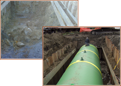 FPH Tank Installation also helps with Shoring Installations.